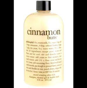 Cinnamon Buns 🧁 Shower Gel, Bubble bath, Shampoo